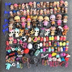 Партия из 200 штук, кукла-сюрприз, королева, пчела, Лиль, сестры, единорог, Китти, королева, домашнее животное и наряд, платье, игрушечная обувь, ...