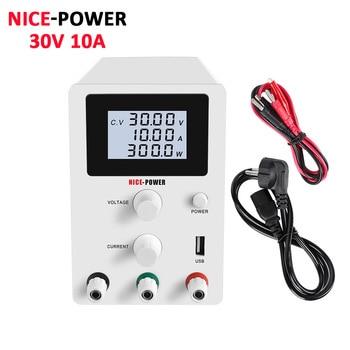 LCD Screen DC Lab Bench Power Supply 30v 10a 60v 5a Adjustable Switching Bench Source Digital Voltage Regulator 0.001A 120V 3A