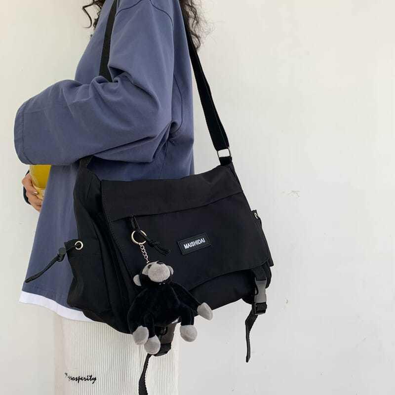 Sacos Para Mulheres de Moda de Nova Messenger Bags Adorável Multifuncional Feminino Bolsa de Viagem Saco de Lona Casual Feminina холщовая сумка