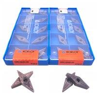 Inserir 100% Original VNMG160404 VNMG160408 HM PC9030 pastilha de metal duro para aço inoxidável de alta qualidade ferramenta de Torneamento Externo