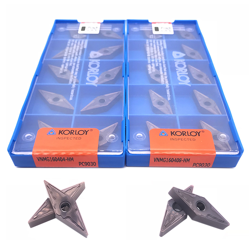 Insert 100% Original VNMG160404 VNMG160408 HM PC9030 High Quality External Turning Tool Carbide Insert For Stainless Steel