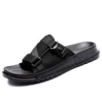 Men's Slides Soft Light Men Slippers Home Outdoor Beach Summer EVA Rubble Slide Slipper 2019 Fashion Indoor Shoes Big Size 47 48 4