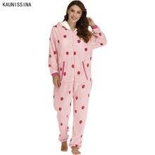 Комбинезон с капюшоном пижамы размера плюс фланелевые зимние