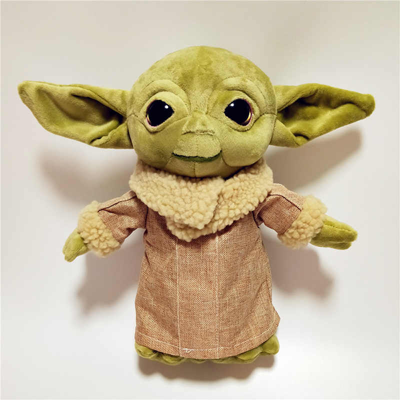 Disney The Mandalorian Star Wars Baby Yoda Plush Toys The Asset The Child Cartoon Plush Dolls Movies Tv Aliexpress