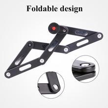 WHEEL UP Anti-cut Safety MTB Folding Bike Lock Professional Alloy Steel Foldable Bicycle Keys Anti-theft Password lock