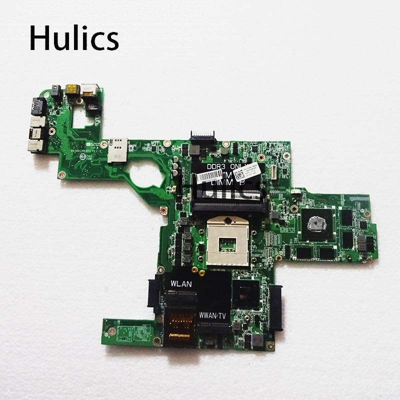 Материнская плата для ноутбука Hulics Original 714WC 0714WC DAGM6CMB8D0 s989 для DELL XPS L502X, материнская плата HM67 w/ GT 540M 2 Гб