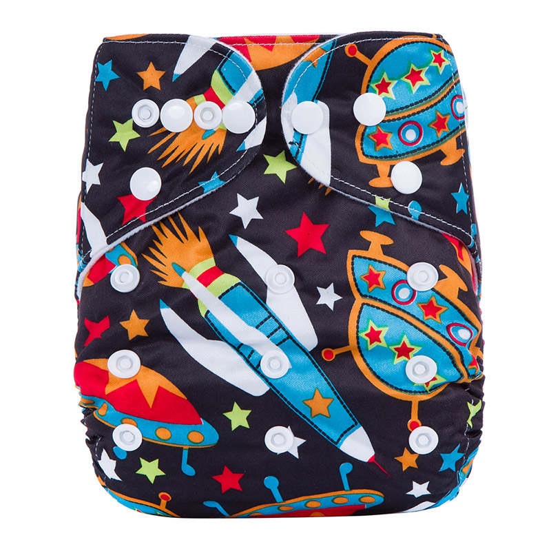 Baby Reusable Diapers Washable Eco Friendly Sex Baby Nappy Wholesale Youth Baby Diapers With Prints R18