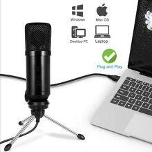 Usb Microphone PC Professional Condenser Microphone Gaming bm 800 mic For Singing Karaoke Laptop Windows Mac bm800 Mikrofon