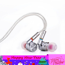 Newset Tinhifi T4 In Ear auricolare 10mm CNT Driver dinamico HIFI Bass auricolare metallo 3.5mm auricolare TIN P1 T3 T2 P2 T1 PLUS
