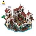 Строительные блоки для пиратской крепости Eldorado, Пираты Бей барракуды 49155 49016, тематические серии пиратов, идеи, модели, блоки, игрушки