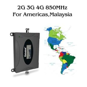 Image 5 - CDMA مكرر 850 MHz إشارة 2G 3G 4G 850mhz UMTS GSM CDMA موبايل مكرر إشارة الهاتف الداعم هاتف محمول مكبر صوت أحادي 20