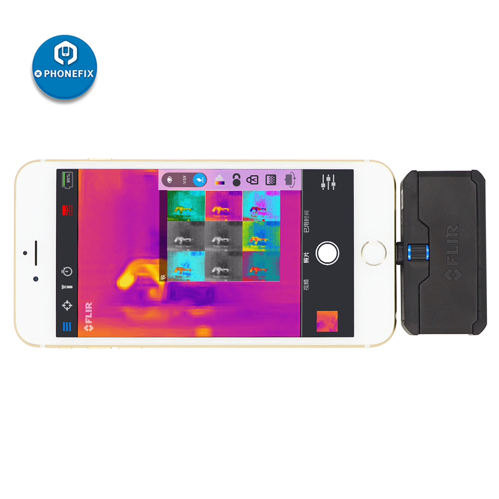 Tools : Thermal Camera for Smartphone PCB Short Problems Diagnosis Assistant Smartphone Thermal Camera for iPhone Repair Android and iOS