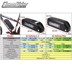 Image 4 - MXUS ebike Kit комплект для переоборудования электрического велосипеда Hailong аккумулятор 350 Вт 500 Вт 36 В Ач 48 в 17 Ач 52 в 17 Ач 15F 15R XF ЖК дисплей двигателя