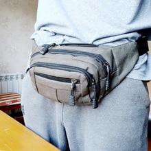 Casual men and women outdoor pockets Waist Packs hip bag Womens waistband Banana Bags Waterproof Chest