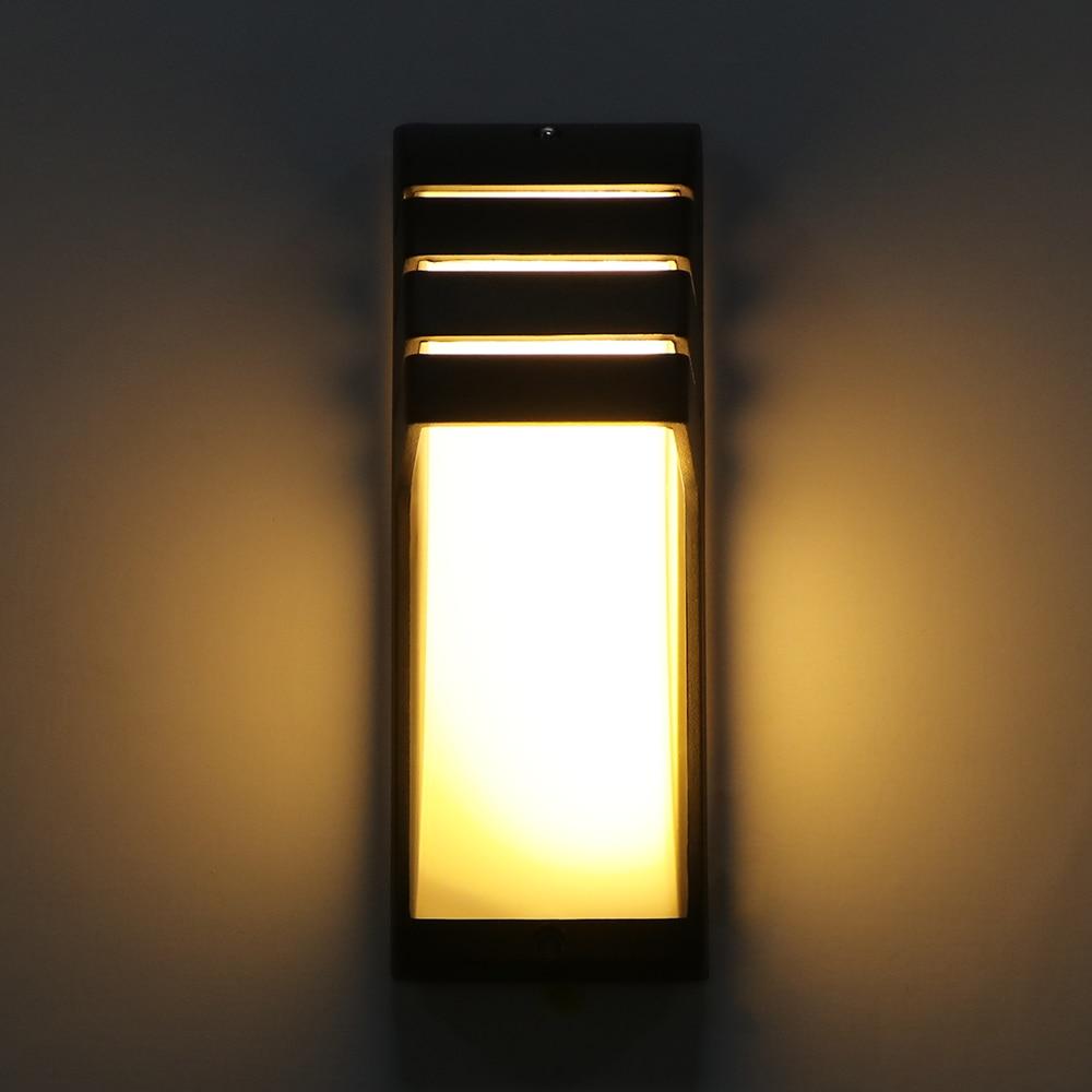 lowest price Solar Light Outdoor Porch Wall Lamp PIR Motion Sensor Garden Solar Lamp Sunlight Powered Waterproof Energy Saving Street Light