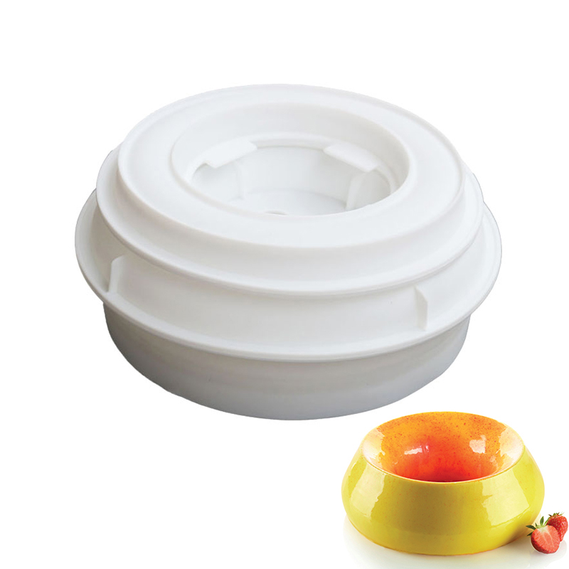 1 Set Silicone Round Cake Molds baking For Cake Decorating Tools Gelato Dessert Baking Mold Pan Mould accessories