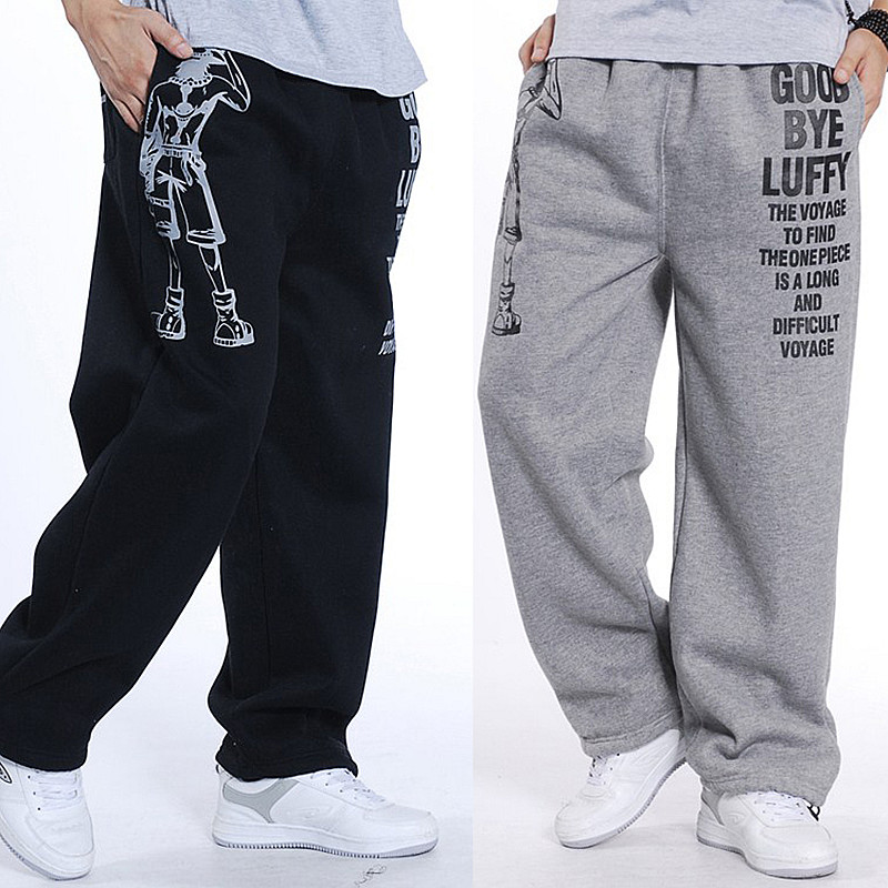 Men Harem Tactica Pants Thick Velvet Casual Sagging Cotton Pants Men Trousers Plus Size Sporting Pant Mens Joggers Feet Pants5XL