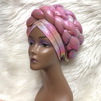 Braided Head Band Turban (Assorted) 5