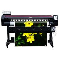 Advertising 1.6m flex banner máquina de impressão de formato largo ao ar livre e impressora interior com único plotter impressora de vinil cabeça dx7