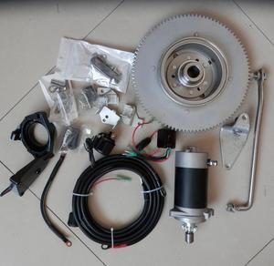 Image 5 - T30 Elektrische Start Kit Voor Yamaha F30HMHS/L Hwl Mhl 2T 496CC T25 E30 25 30HP Buitenboordmotor Starter motor Vliegwiel Lading Coil Schakelaar