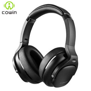 COWIN Headphones Bluetooth Aptx Over-Ear Noise Cancelling Hd-Sound with Active