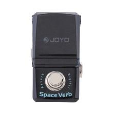 JOYO JF 317 espacio Verb Digital reverberación Mini Pedal de guitarra eléctrica con efecto mando guardia Bypass verdadero