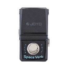 JOYO JF 317 الفضاء الفعل الرقمي ريفيرب الغيتار الكهربائي مصغرة تأثير دواسة مع مقبض الباب الحرس صحيح الالتفافية