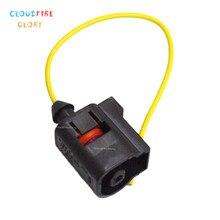 CloudFireGlory 1J0973701 VW 제타 골프 용 오일 압력 센서 플러그 커넥터 GTI Passat 98 05 Audi S6 용 02 04 S4 2000 2001