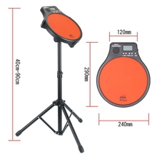 """Top Quality Digital Portable Electric Electronic Drum Pad For Training Practice Metronome Counter Popular Drum Traning   """""""