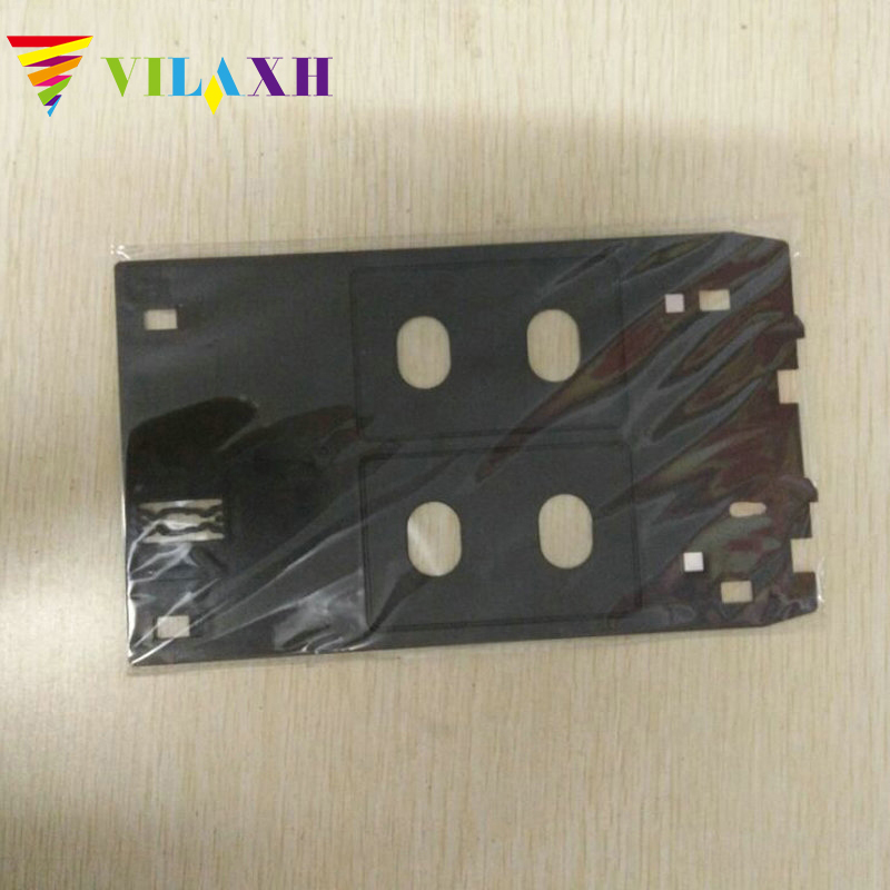 Vilaxh PVC ID Card Tray Plastic Card Printing Tray For Canon IP7250 IP7270 IP7260 IP7240 IP7280 MG7510 MG7520 MG7540 MG7550 MG77