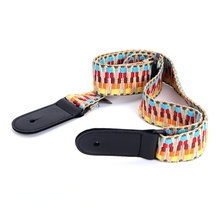 High Quality Universal Ukulele Shoulder Strap National Style Colorful Braided Belt Practical Adjustable Cotton