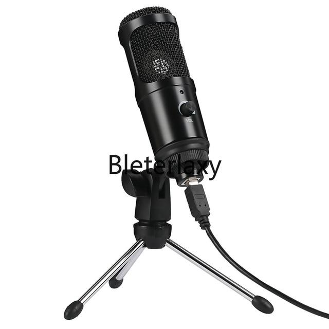 Micrófono de condensador USB para Mac, portátil y ordenador para grabación en Streaming, transmisión de voz, para Youtube, Skype