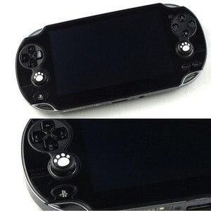 Image 2 - 2 قطعة غطاء قبضة عصا التحكم التناظرية ، غطاء زر واقي لسوني بلاي ستيشن Psvita PS Vita PSV 1000/2000 نحيف