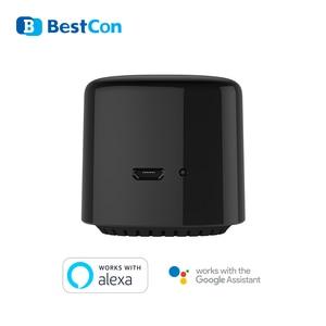 Image 4 - Broadlink RM4C Mini commutateur WIFI de mouvement de haricot noir télécommande intelligente IR domotique intelligente fonctionne avec Google Home