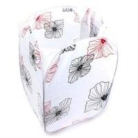 Duża pojemność składany kosz na ubrania do prania worek na pranie kosz na śmieci (kwiat) w Worki na pranie od Dom i ogród na