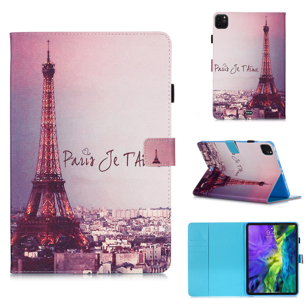 For Cover Funda Flowers For Stand 2020 Coque Tablet Owl Pro Case Wallet Tablet iPad 11