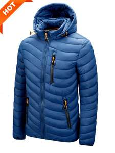 Coat Parkas Jacket Hooded Male Men Men's Fashion New Casual Autumn Spring Latest Soft