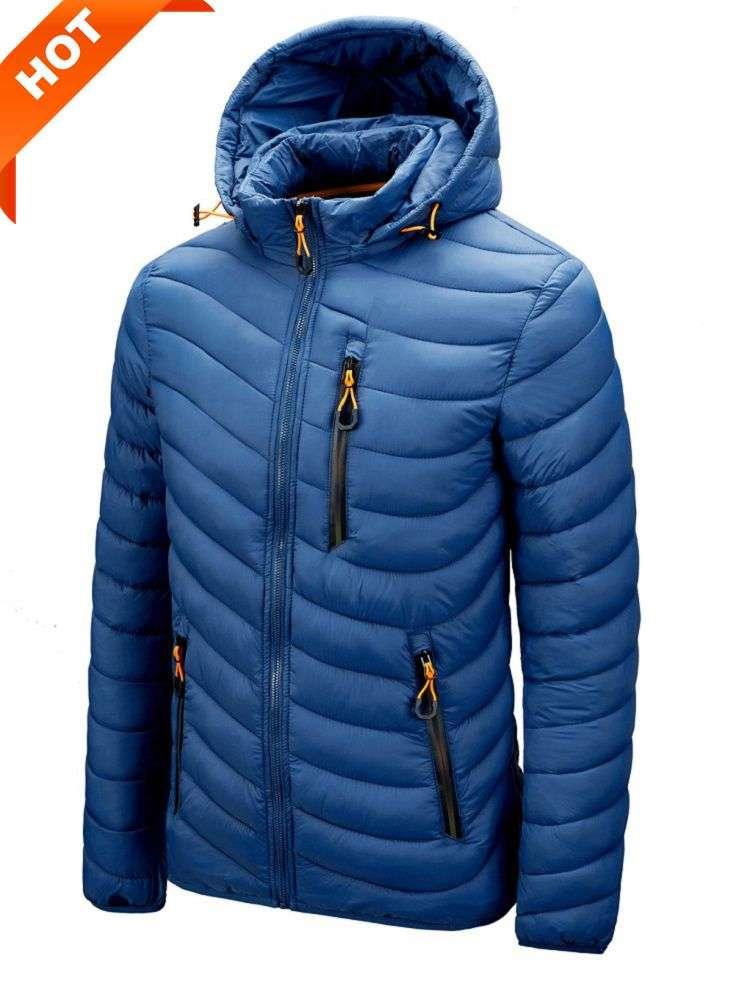 Jacket Coat Parkas Windbreaker Hooded Spring Male Autumn Men Men's Casual Fashion High-Quality