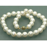 free shipping wholesale jewelry wig vogue women's jewelry nautral whitefreshwater pearl necklace