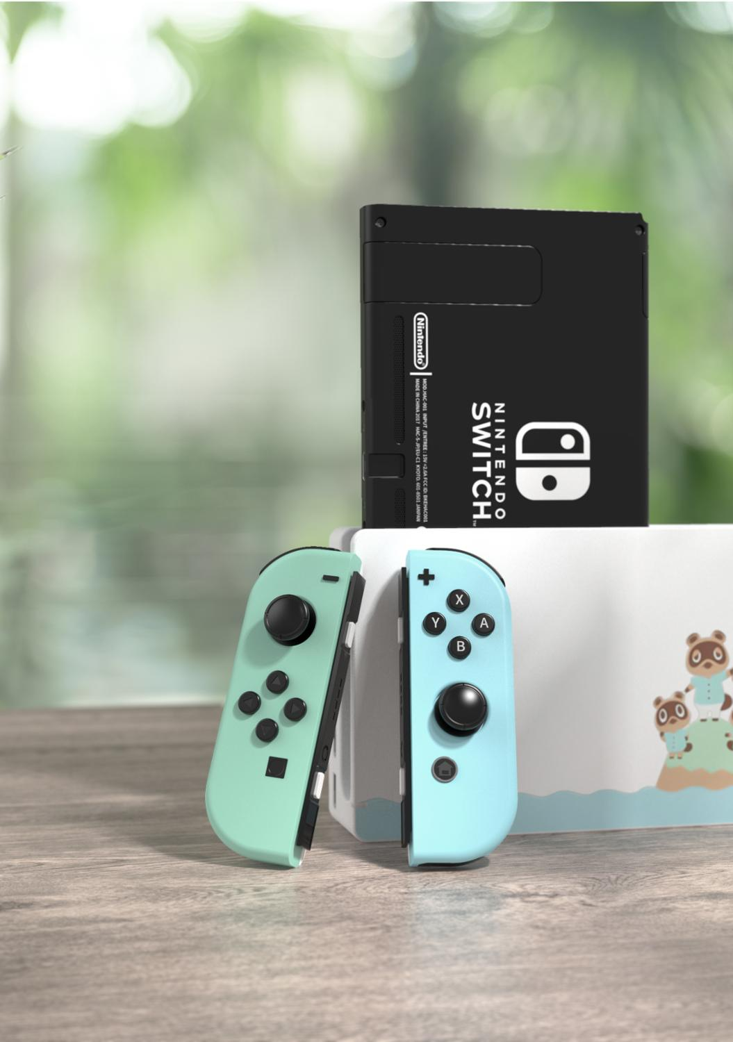 cheapest Animal Crossing Edition Case For Nintend Switch Shell Separated Cover Protective Case for Nintend Switch Joycon Controller Shell