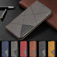 Huawei Y6 2019 Case Magnetic Leather Slim Case na for Huawei Y6 2019 Y 6 Pro Prime Y6Prime 2018 Flip Stand Business Phone Cover