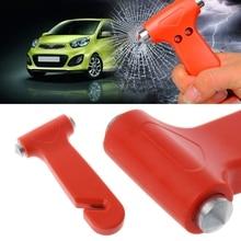 2 in 1 Car Emergency Safety Escape Hammer Glass Window Breaker Cutter Tool  652E