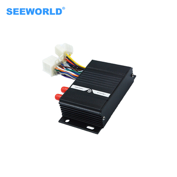Seeworld Real time S208 Vehicle tracking gps tracker device with fuel sensor&temperature via gps tracking device