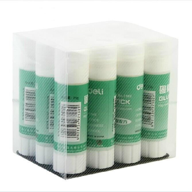 Deli 7102 Upgraded Formula PVA Solid Glue Stick 21g Solid Glue / High Quality Glue Stick / Office / School Supplies