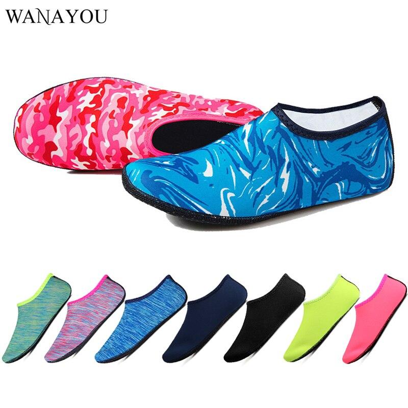 Женские носки-босички, носки для дайвинга, для плавания, светильник, обувь для воды, пляжная обувь, нескользящие носки для плавания