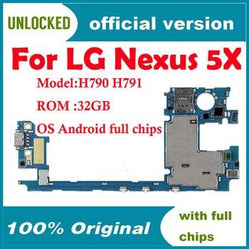 100% Unlocked Originele Moederbord Voor Lg Nexus 5X H790 H791 4G Ondersteuning Moederbord Voor Android Os Logic Board Met volledige Chips