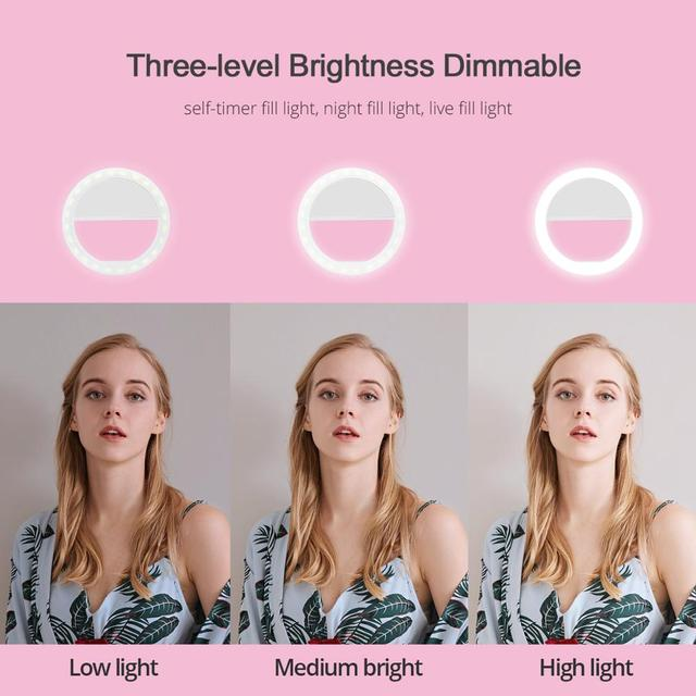 Effects on different Selfie Ring Fill Light