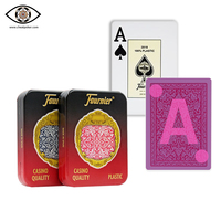Marked cards for contact lenses, Fournier cheat poker, magic plastic marked playing cards