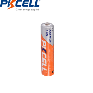 Image 3 - 10個のx pkcell aaaバッテリーni zn系900mWh 1.6v aaa充電式バッテリー3A bateria baterias