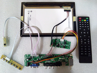 B101UAN02.1 DIY HD display TV projector 10.1 USB playback VGA/HDMI/AV/TV function driver board